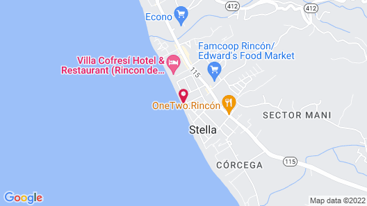 Coconut Palms Inn On The Beach Map