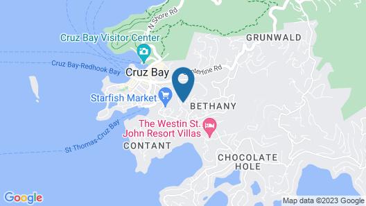The Hills St. John Map