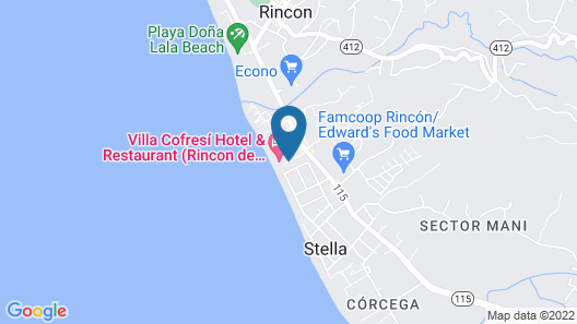 Villa Cofresi Hotel Map