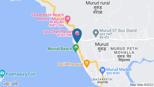 Golden Swan Beach Resort Map