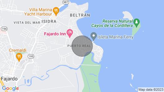 Beautiful Apartment in Fajardo Map