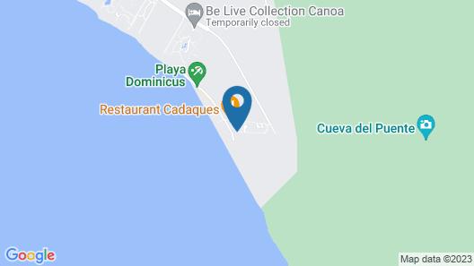 Apartaments at Cadaques Caribe Map