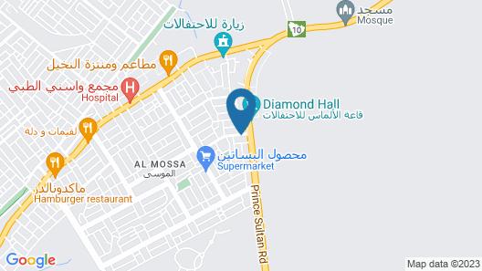 Al Momayaz Palace Hotel Suites Map