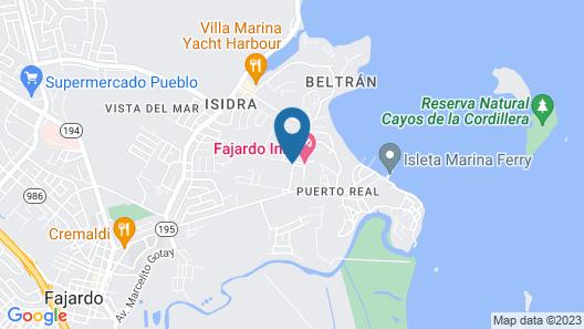 Fajardo Inn Map