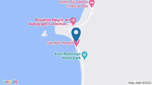 Sandals Negril - ALL INCLUSIVE Couples Only Map