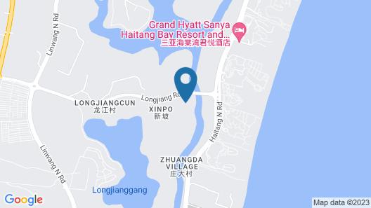 Conrad Sanya Haitang Bay Map