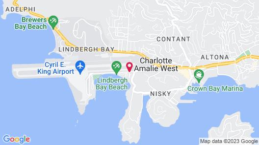 Emerald Beach Resort Map
