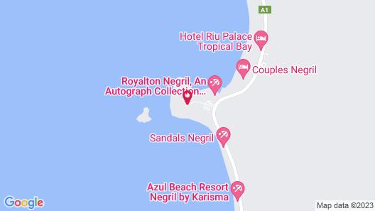 Hedonism II All Inclusive Resort Map