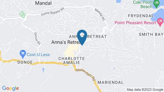 Tillett Hostel Map