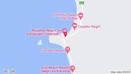 Royalton Negril Resort & Spa - All Inclusive Map