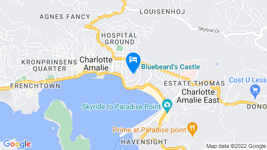 Bluebeard's Castle Villas III by Capital Vacations Map