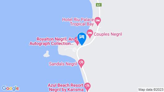 Grand Lido Negril Au Naturel Resort - All Inclusive Map