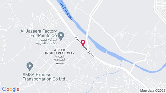 Niyaf Hotel Suites Map