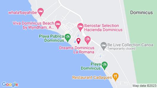 Catalonia La Romana - All Inclusive Map
