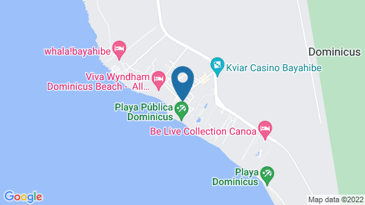 Viva Wyndham Dominicus Palace Resort - All Inclusive Map