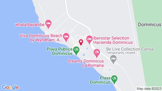Catalonia Royal La Romana All Inclusive-Adults Only Map