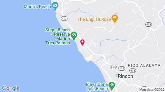 Tres Palmas Inn & Villas Map