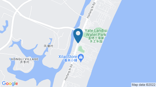 Grand Hyatt Sanya Haitang Bay Resort and Spa Map