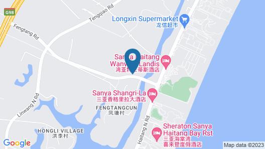 Renaissance Sanya Haitang Bay Resort Map