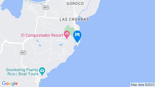 Villa Lanais- Waterfront Property Next To El Conquistador Resort Map