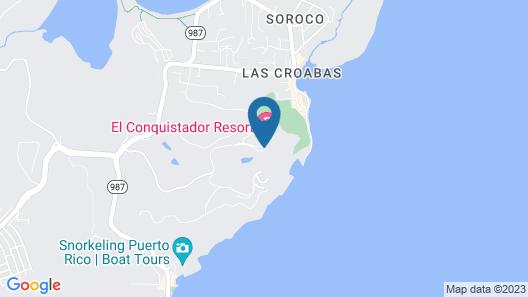 El Conquistador Resort Map