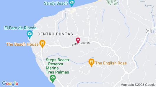 The Lazy Parrot Inn Map