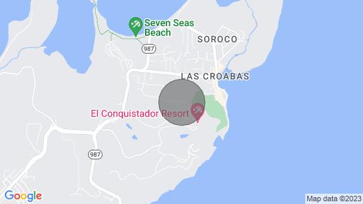This Villa is a 5 Bedroom, 6.5 Bathrooms, Located in Cabezas, PR Map
