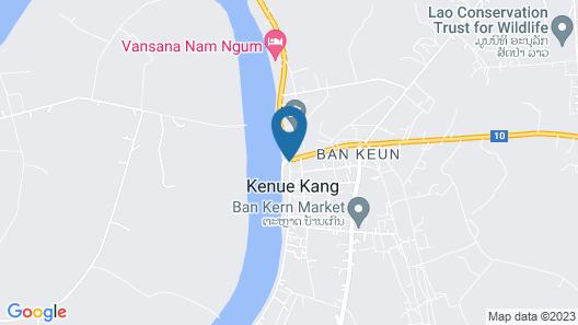 Vansana NamNgum Hotel Map