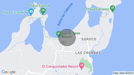 Fajardo Townhouse W/private Pool & Ocean View Map