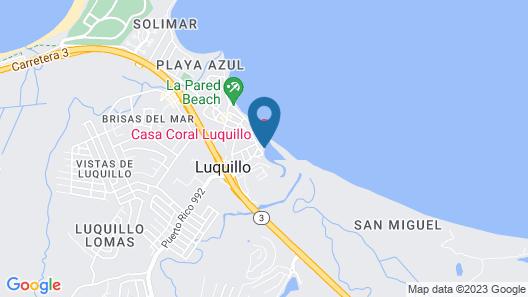Casa Coral - Hostel Map