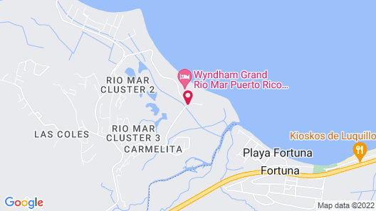 Wyndham Grand Rio Mar Puerto Rico Golf & Beach Resort Map