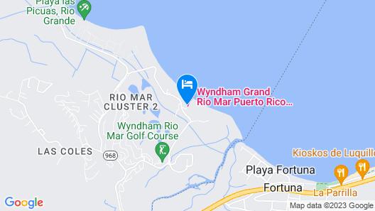 Margaritaville Vacation Club by Wyndham - Rio Mar Map