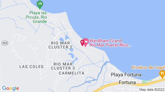 VPR Apartments- Ocean Villas at Rio Mar Map