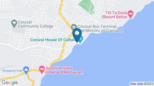 Mirador Hotel Map