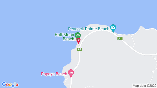 HALF MOON BEACH COTTAGES Map