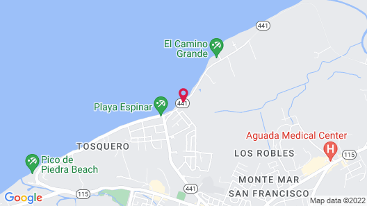 Hotel Colombus Map