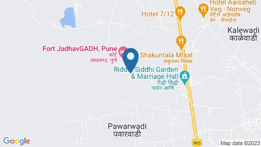 Fort JadhavGADH - A GADH Heritage Hotel Map