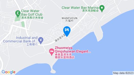 Qingshui Bay Mandao Seaview Holiday Hotel Map
