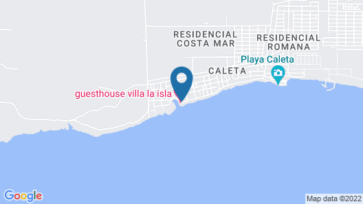 Guesthouse Villa la Isla Map