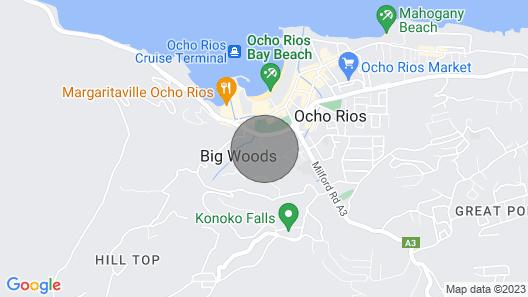 Mystic RIdge Resort Ocho Rios Map