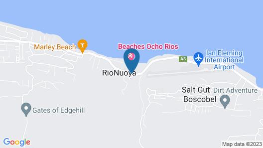 Beaches Ocho Rios - ALL INCLUSIVE Map