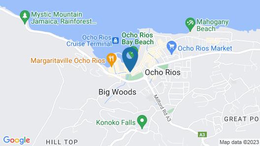 Sandcastles Beach Resort Map