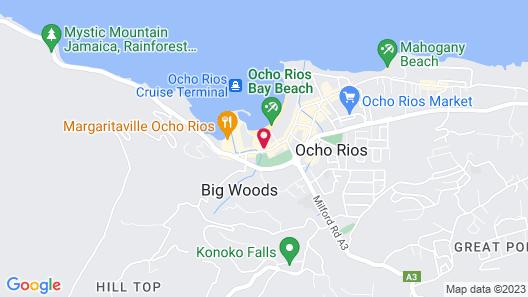 SandCastles Deluxe Beach Resort Map