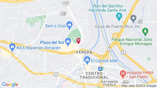 Hyatt Place San Juan/Bayamón Map