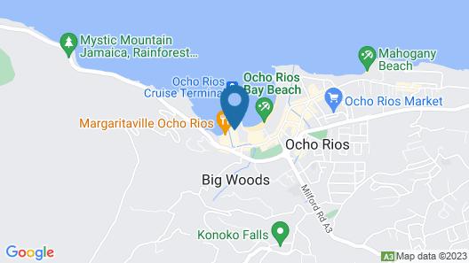 Fisherman's Point Resort Map
