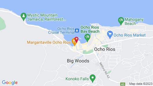 Deez Bed and Breakfast Ocho Rios Map