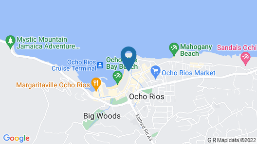 Moon Palace Jamaica – All Inclusive Map
