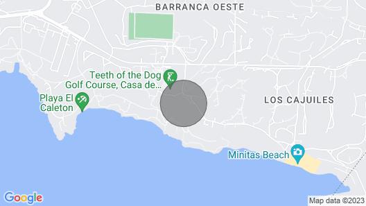 Beautiful Ocean View Golf Villa in Casa de Campo Map