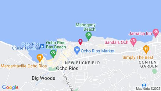 Hibiscus Lodge Map
