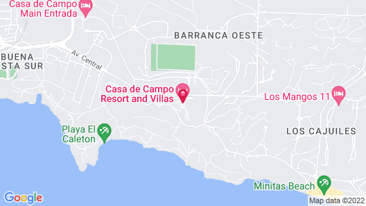 Casa de Campo Resort and Villas Map